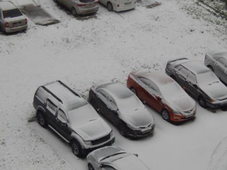 зима в Челябинске