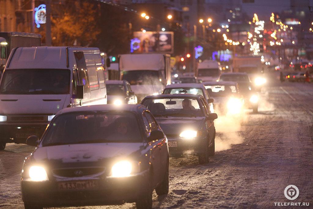 пробки в Челябинске
