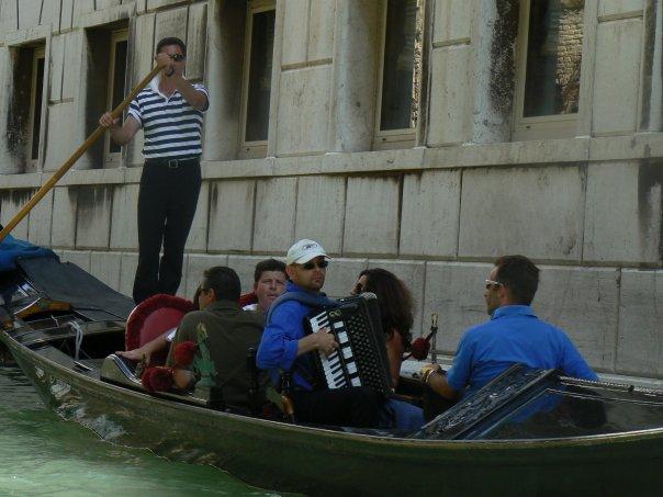 гондольеры Венеция